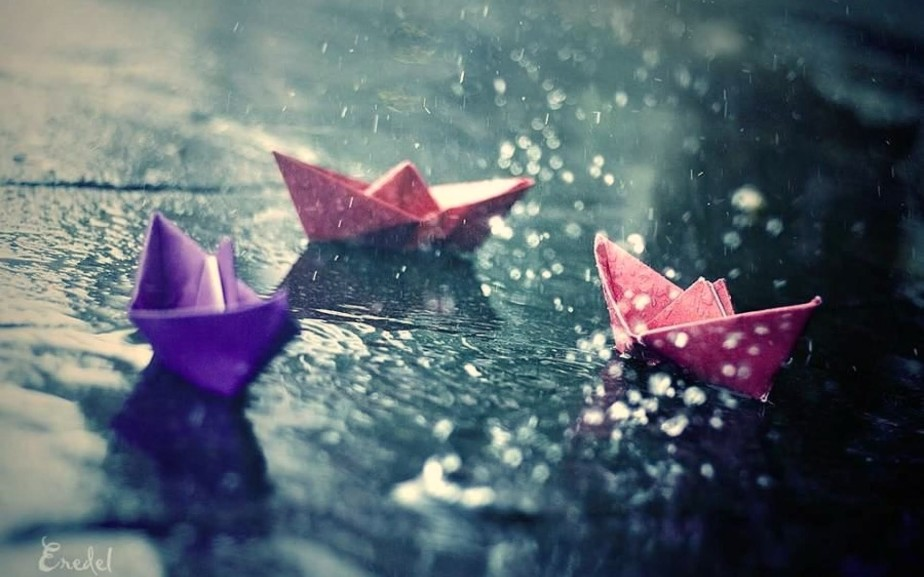 My New paperboat.!